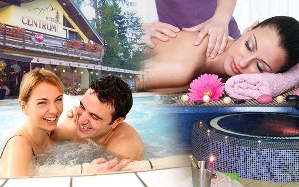 Wellness pobyt v Harrachově v Hotelu Centrum