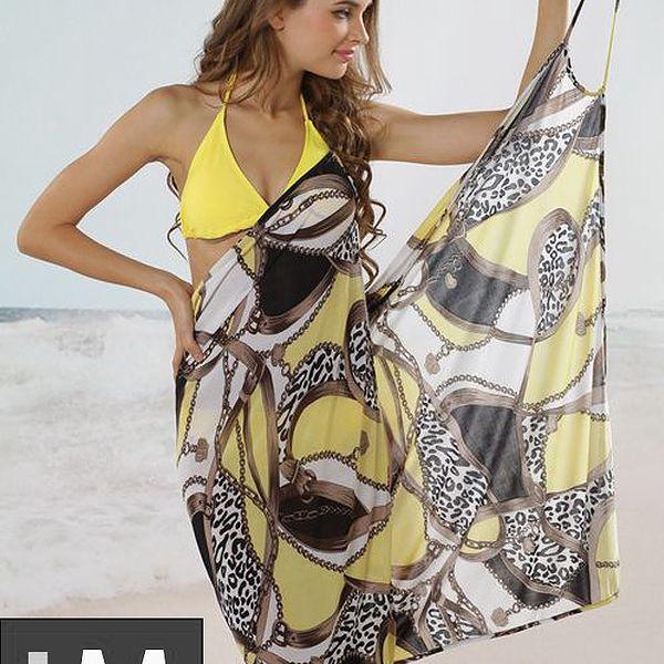 Letní šatičky na pláž vzor 1 Top model 2013