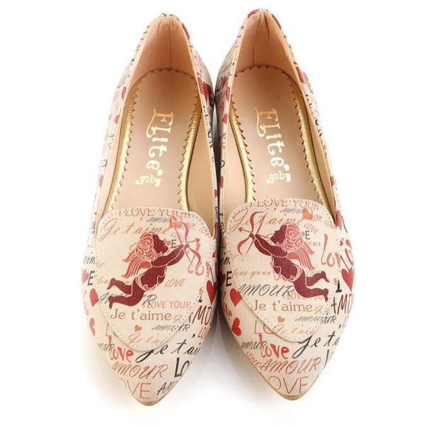 Dámské loafers s Amorem Elite Goby