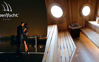 Relaxace v sauně v Green Yacht Hotelu****