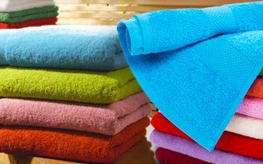 Rychleschnoucí osuška ze 100% bavlny: extra savá. Výběr ze 6 barev!