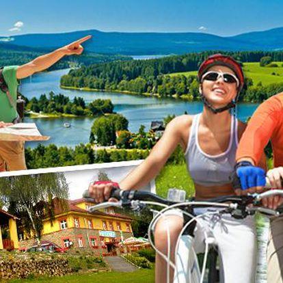 Lipno a šumavská dovolená na břehu přehrady až do konce léta. Sauna, bowling, šipky, kulečník a spousta relaxačně-sportovního vyžití v penzionu nebo rekreačních domcích Vyhlídka. Šumava a Lipno má pro každého něco!