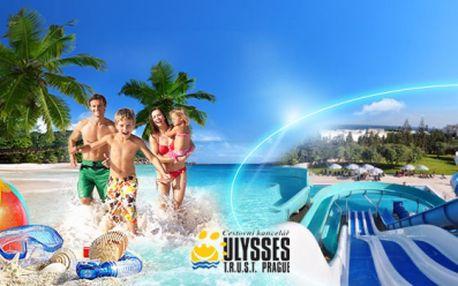 Super Last Minute ALL INCLUSIVE Tunisko od 9.990 Kč! Letecká dovolená včervnu v komfortních hotelích sperfektními recenzemi přímo u krásné široké písčité pláže!