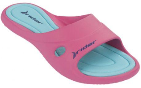Dámské pantofle - rider slide feet iii fem růžová