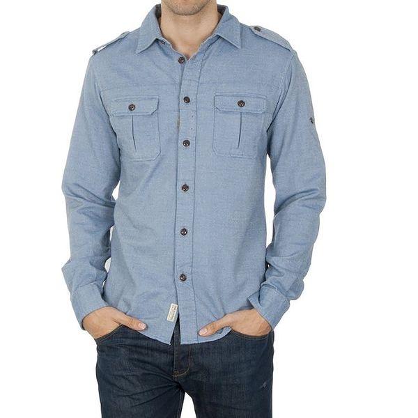 Pánská modrá košile Franklin & Marshall