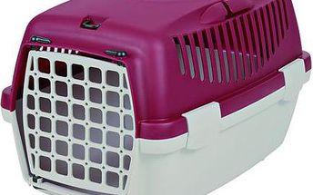 Trixie Transportní box CAPRI I šedo červená