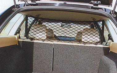 Mikra vnitřní ochranná síť za zadní sedadla