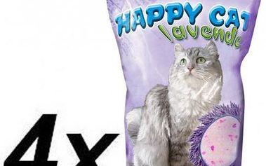 Akinu HAPPY CAT Lavender 4 x 3,6 L