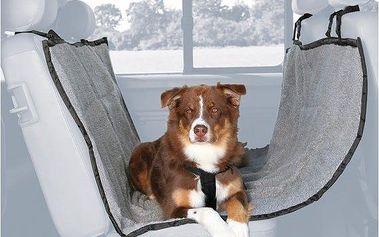 Trixie autopotah za zadní sedadla fleece/polyester 1,40x1,60m