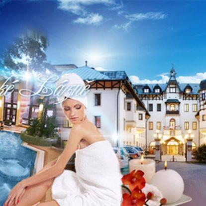Luxusní OREA Hotel Monty**** Mariánské Lázně! Bohatá POLOPENZE, léčebné PROCEDURY, BAZÉN se slanou vodou, ŘÍMSKÉ LÁZNĚ, fitness a vstupní lékařská prohlídka! SEDM dní naprostého luxusu jen za 6990 Kč! Sleva 56%!