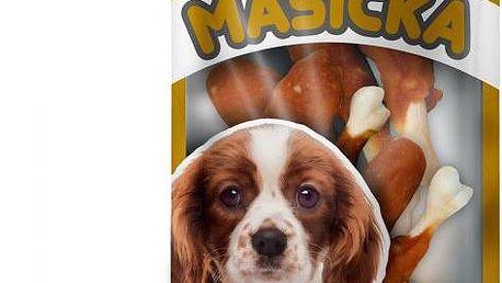 Akinu Kuřecí stehýnka s kostičkou pro psy 5 x 75 g