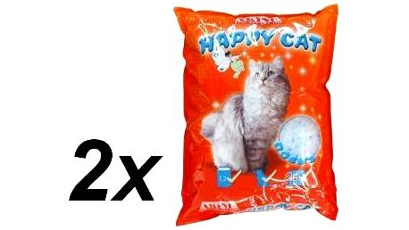 Akinu stelivo HAPPY CAT 2 x 7,2 l Rocks