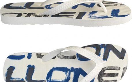 Pánské žabky - o'neill ftm floater logo bílá/modrá