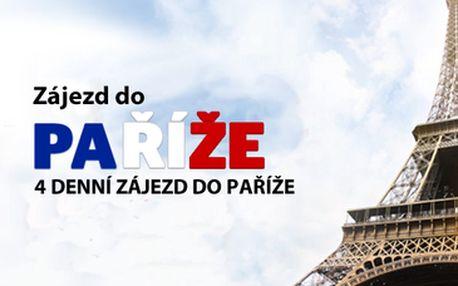 1898 Kč za osobu zájezd do letní Paříže 30.6 - 3.7.2014 po více jak 50% slevě!! Jedině s iLoveTravel.cz za nejlepší cenu na trhu