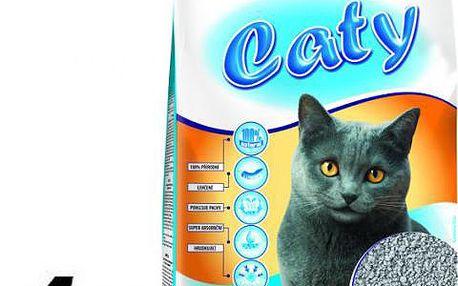 Akinu Caty křemelinové stelivo pro kočky 4 x 5l