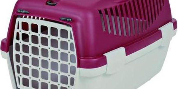 Trixie Transportní box CAPRI II. šedo červený