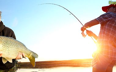 """Celodenní povolenka na ryby - """"Chyť a pusť"""""""