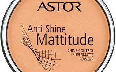 Astor Anti Shine Mattitude Powder 14g Make-up W - Odstín 002