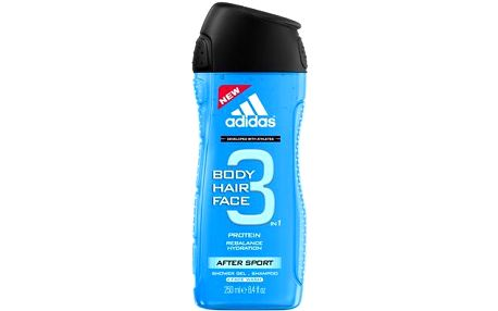 Adidas 3in1 After Sport 250ml Sprchový gel M