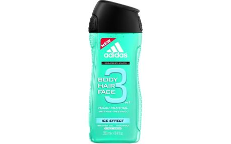 Adidas 3in1 Ice Effect 250ml Sprchový gel M