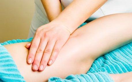 Manuální lymfatická masáž celých nohou pro regener...