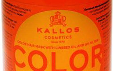 Kallos Color Hair Mask 1000ml Maska na vlasy W Maska pro barvené vlasy