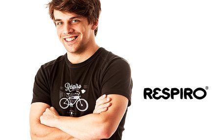 Pánská trička Respiro – 100% biobavlna