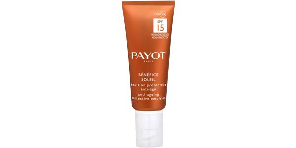 Payot Benefice Soleil Anti Ageing Face Emulsion SPF15 50ml Denní krém na všechny typy pleti W Ochranné mléko na opalování