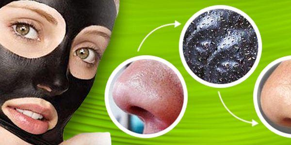 Korejská černá maska vyčistí a rozzáří vaši pleť, 10 ks v balení. Doručení zdarma!
