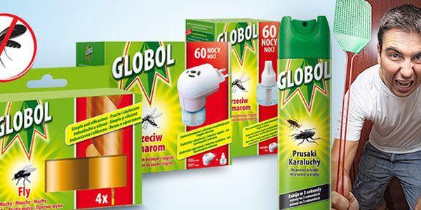 Globol – ochrana proti létajícímu i lezoucímu hmyzu