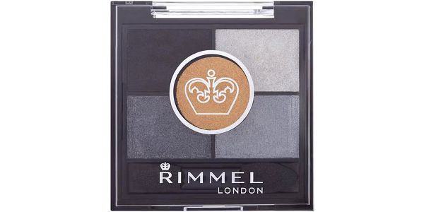 Rimmel London Glam Eyes HD 5-Colour Eye Shadow 3,8g Oční stíny W - Odstín 025 Victoria´s Purple