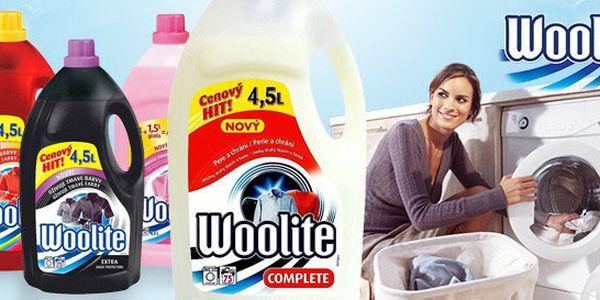 Prací gel Woolite – celkem 18 l až na 300 praní