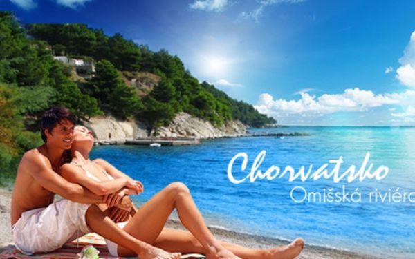 LAST MINUTE Chorvatsko - Omišská riviéra! Exkluzivní 8DENNÍ dovolená s POLOPENZÍ v hotelu Croatia Sydney ležícím 150 m od krásné oblázkové pláže již od 4890 Kč/ os.! Výjimečná akce, která se již nebude opakovat!