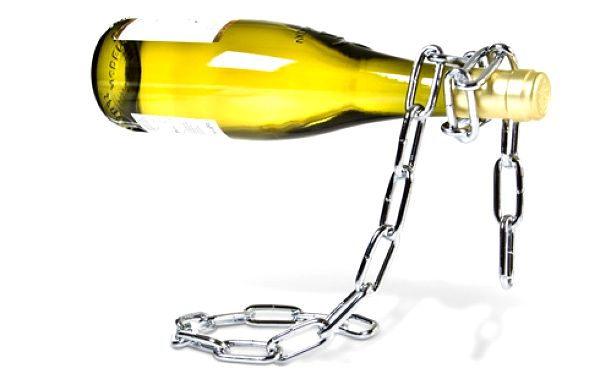 Magický stojan na víno!! Pro všechny milovníky vína...