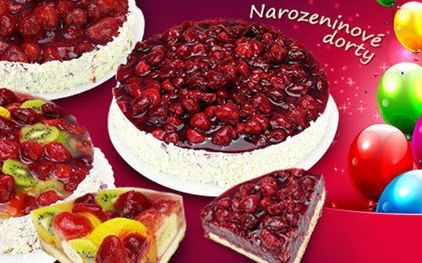 Lahodné ovocné dorty z prvotřídních surovin