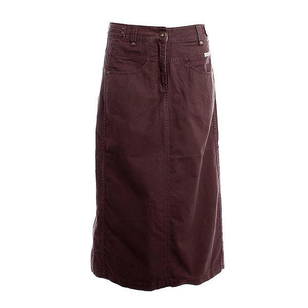 Dámská dlouhá hnědá sukně Bushman