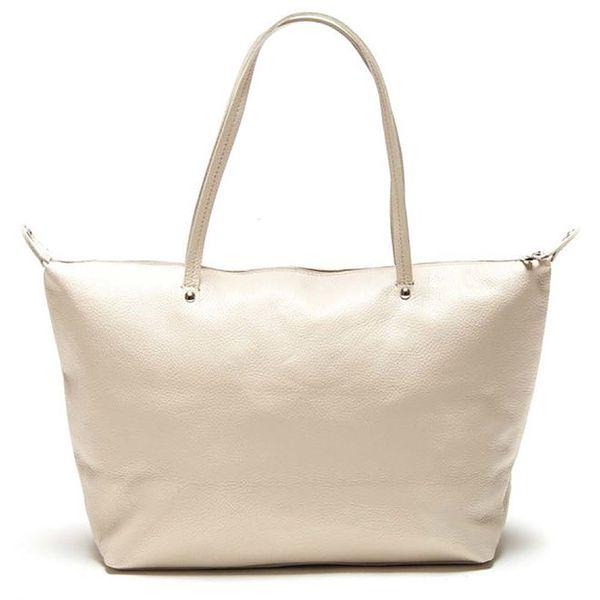 Dámská béžová kabelka s delšími poutky Luisa Vannini