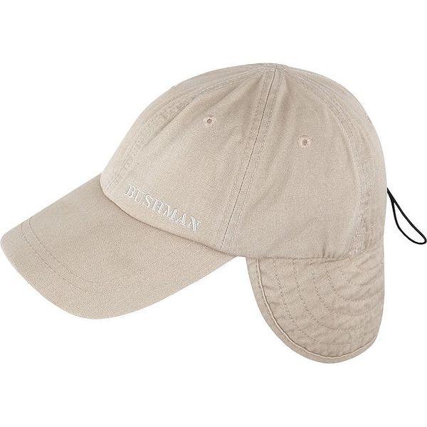 Pánská béžová čepice Bushman