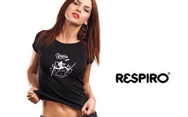 Dámská bavlněná trika Respiro