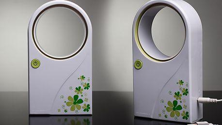 Designový ventilátor bez lopatek