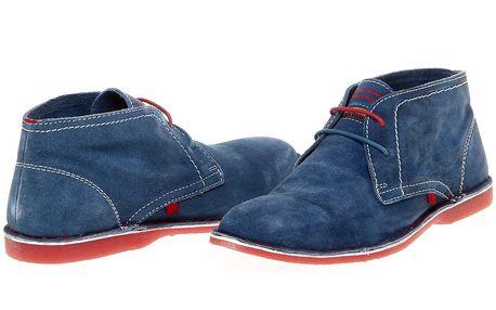 Kožená pánská kotníčková obuv od známé značky s.Oliver.