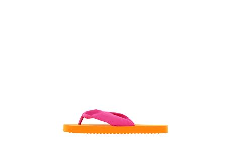 Dámské oranžovo-růžové žabky Flip Flop