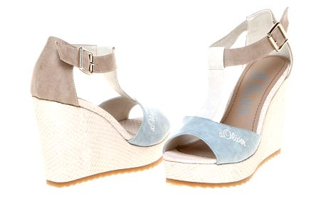 Krásné dámské sandály od profesionální značky s.Oliver