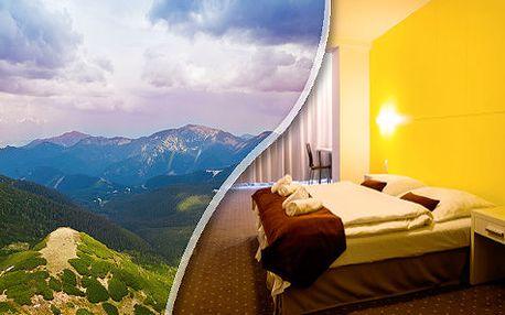 Letní zážitková dovolená pro DVA na 3 a více dní v Hotelu Ostredok*** s polopenzí