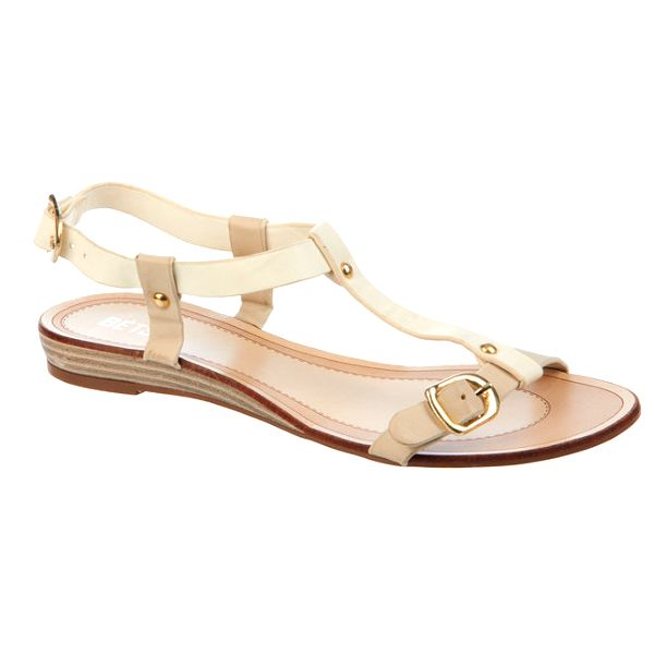 Dámské krémové sandálky Betsy