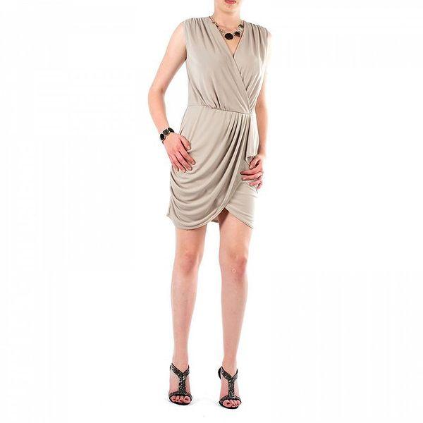Dámske béžové šaty Fifilles de Paris