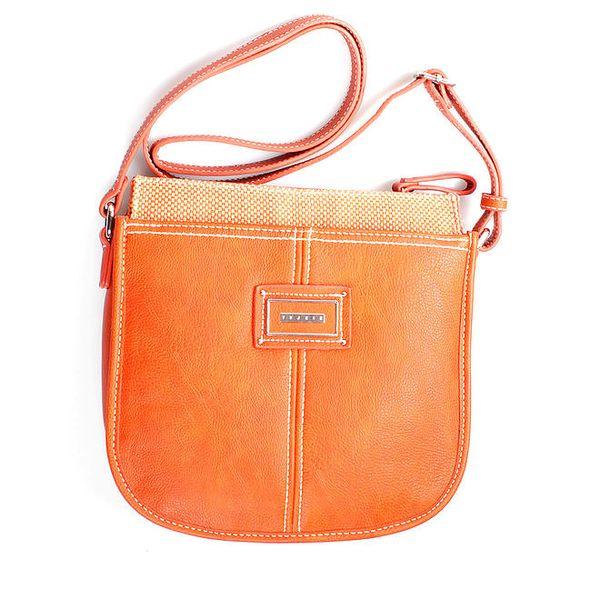 Dámská smetanová taška přes rameno Sisley