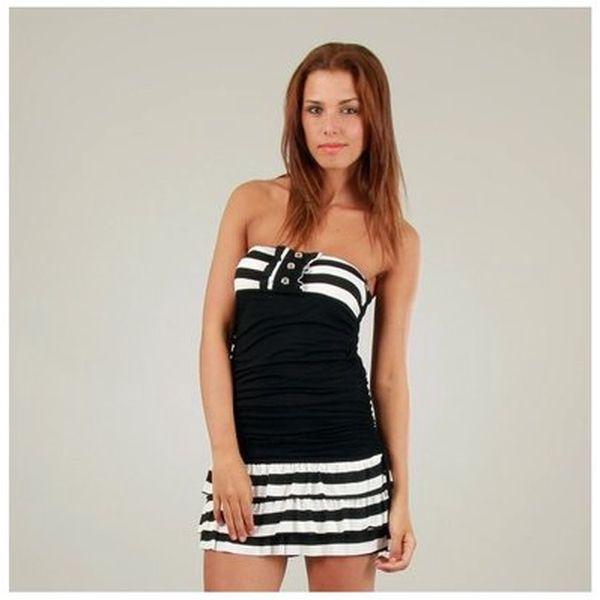 Dámské černo-bílé námořnické šaty Ginger Ale