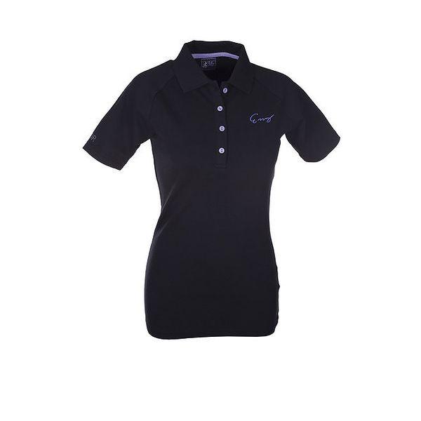 Dámské černé polo tričko Envy