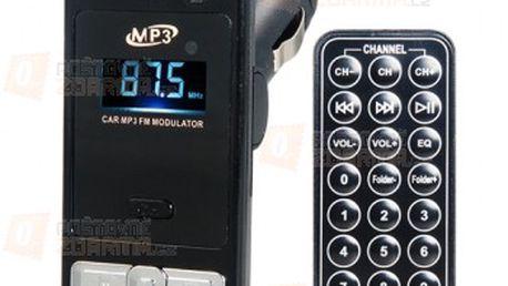 MP3 FM transmitter - 12 / 24 V, 2 barvy a poštovné ZDARMA! - 15610385
